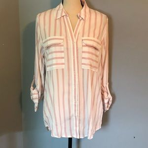 Day to Day by Blu Pepper Striped Blouse